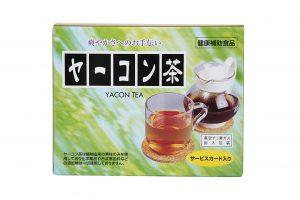 ヤーコン茶パッケージ正面