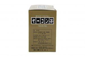 ヤーコン茶パッケージ側面
